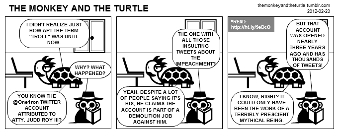 The Monkey and the Turtle (2012-02-23)