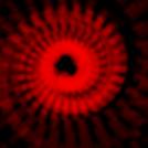 Three red swirls