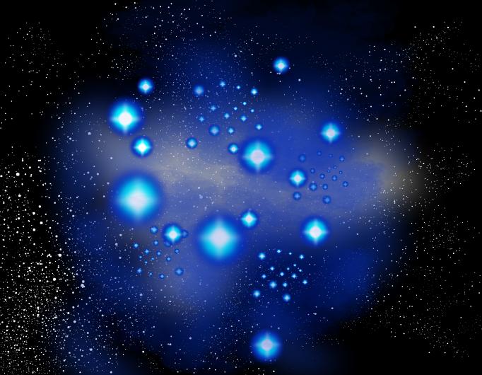 A Dance among the Pleiades