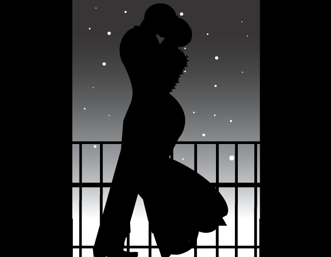 Black & White Kisses