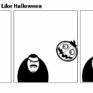Angry Kid Does Not Like Halloween