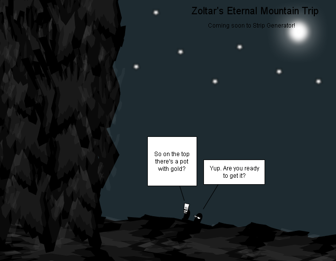 Zoltar's Eternal Mountain Trip Introduction