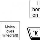 My friend Myles