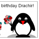 Happy B-day -Drachir:)