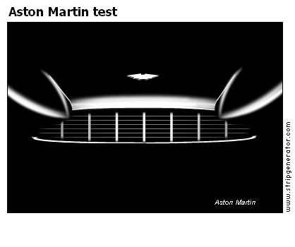 Aston Martin test