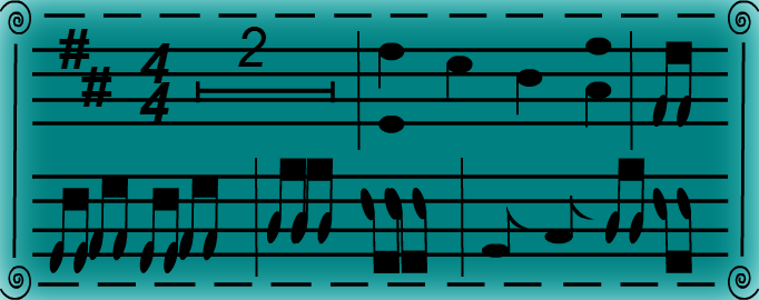 "Artwork #1 (""Music Sheet"")"