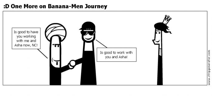 :D One More on Banana-Men Journey