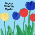Happy Birthday Ryoko!
