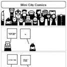 Mini City Comics #1