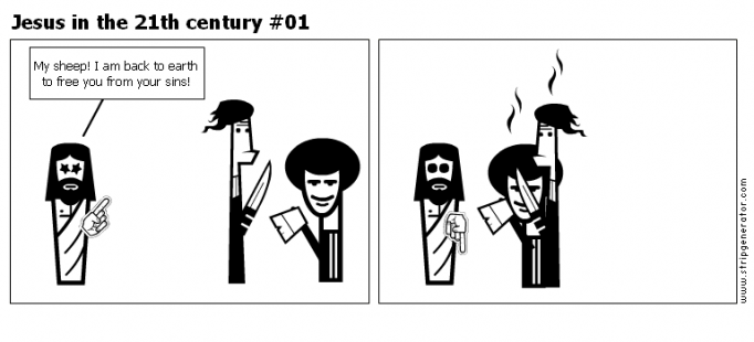 Jesus in the 21th century #01