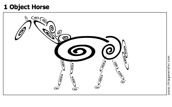 1 Object Horse
