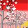 Jardín de ciruelos (Primavera)