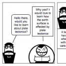Plate tectonics Comic