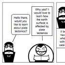Plate tectonics Comic
