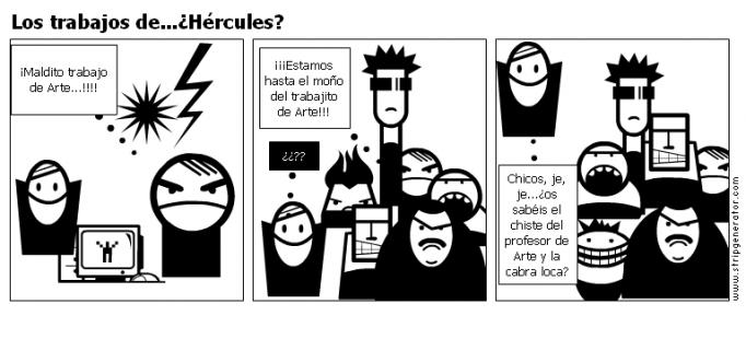Los trabajos de...¿Hércules?