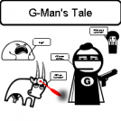 G-Man Cover Strip