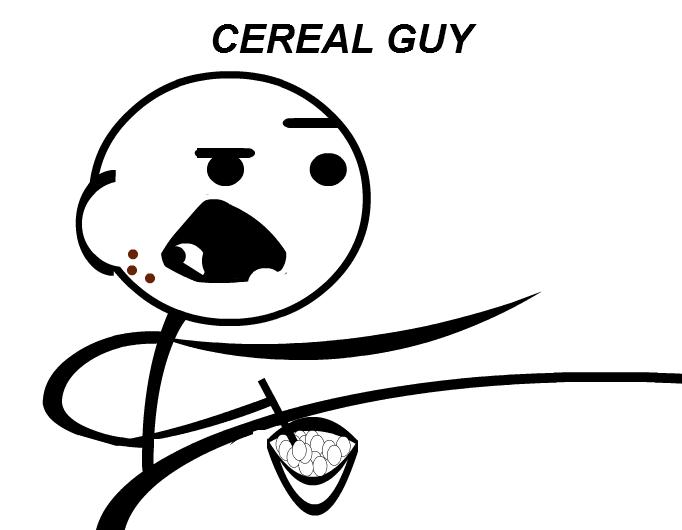 full stripgenerator com cereal guy meme 1