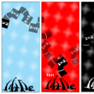 Three colours