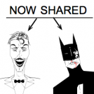 SHARED-Joker and Batman