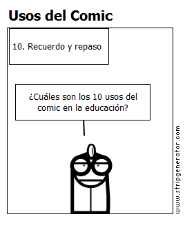 Usos del Comic