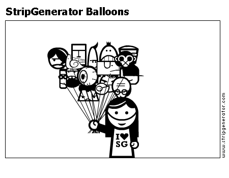 StripGenerator Balloons