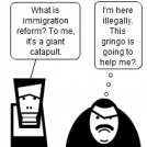 Immigration Reform = Catapult