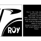 Meet Roy