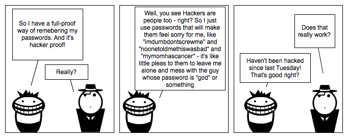 Hacker Proof Passwords