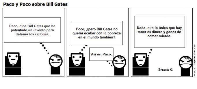 Paco y Poco sobre Bill Gates
