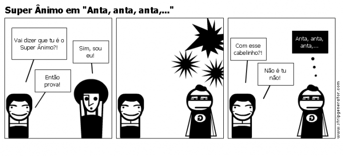 Super nimo em &amp;quot;Anta, anta, anta,...&amp;quot;