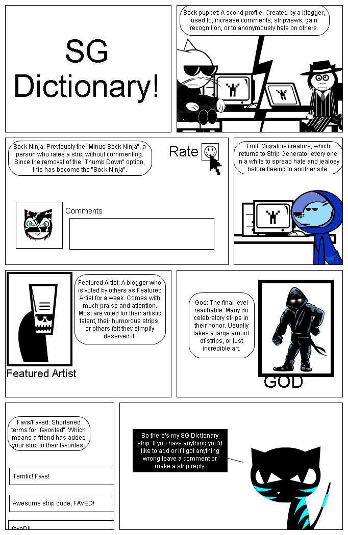 SG Dictionary!