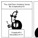 The Just Plain Scripture Series/ Chapter # 11