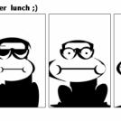 metamorphosis  after  lunch ;)