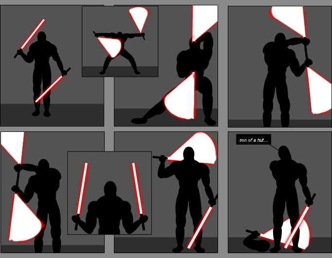 Lightsaber Training / Gag Contest entry