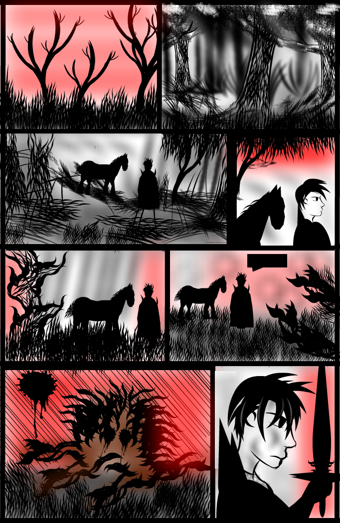 Wolf-Knight Manga - Page 1