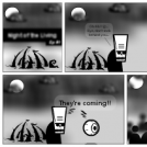 Night of the Living (test strip)