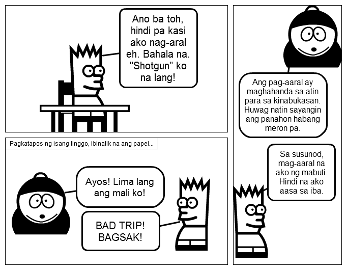 Filipino Comic Strip Project Page 3