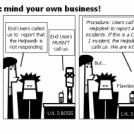 Incident Mngmnt 2: mind your own business!