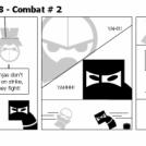 Elevator Comic # 28 - Combat # 2