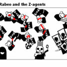 Peng-a ~ strip 3 ~ Rabeo and the Z-agents