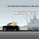 Pied Piper of Hamelin in the XXI century