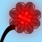 techno flower