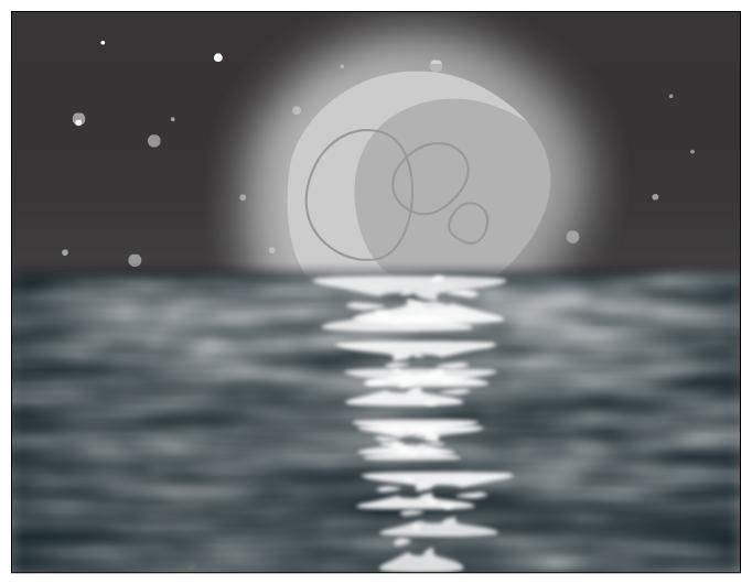 moon/sea