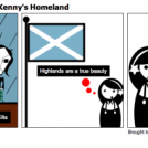 Haiku 85 - Tribute to Kenny's Homeland