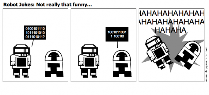 Robot Jokes: Not really that funny...