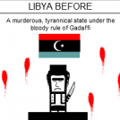 Libya Before And After