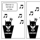 Batman's Social Skills