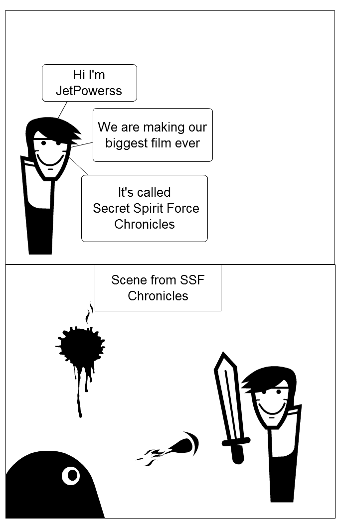 SSF Chronicles Comic
