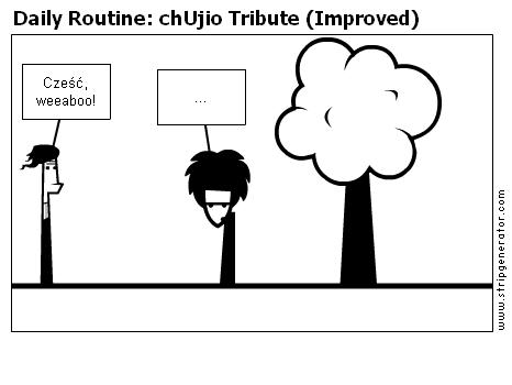 Daily Routine: chUjio Tribute (Improved)