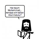Jesus asks